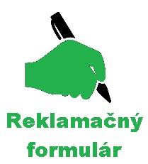 Reklamačný formulár